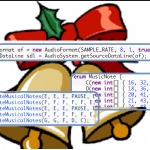 Jingle Bell Music using Java program (javax.sound.sampled package)