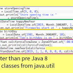Java 8 Date-Time API – Better logical way to represent date, time & zone (java.time package)
